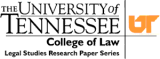 University of Tennessee Legal Studies Research Paper's logo